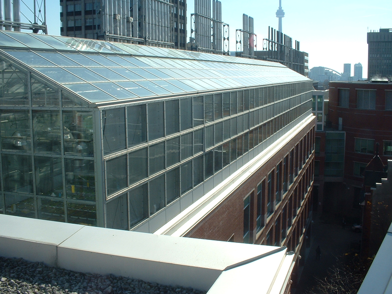 Roof Top Greenhouse Projects